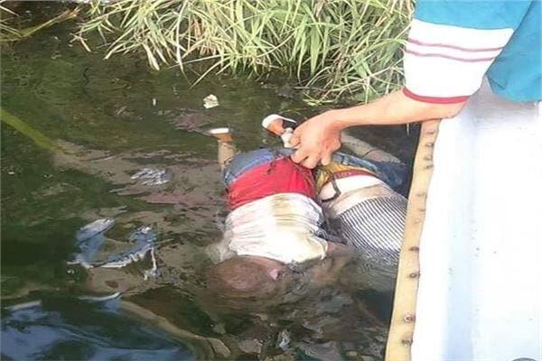 الطفلان جثتان هامدتان في النيل