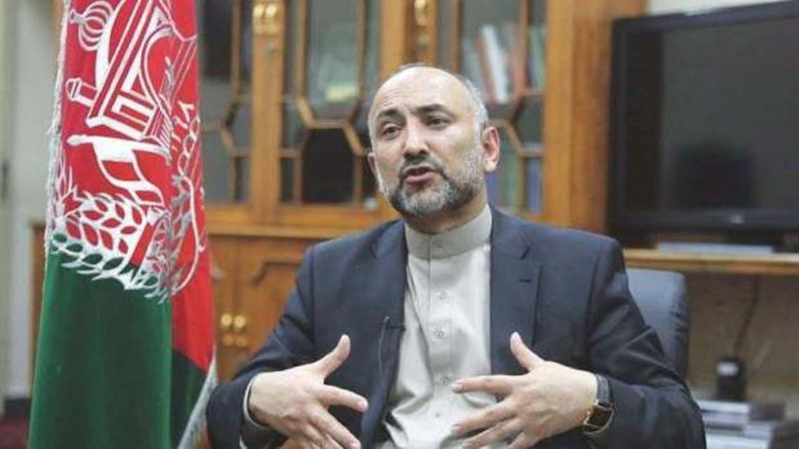 مشاور امنیت ملی افغانستان استعفاء داد