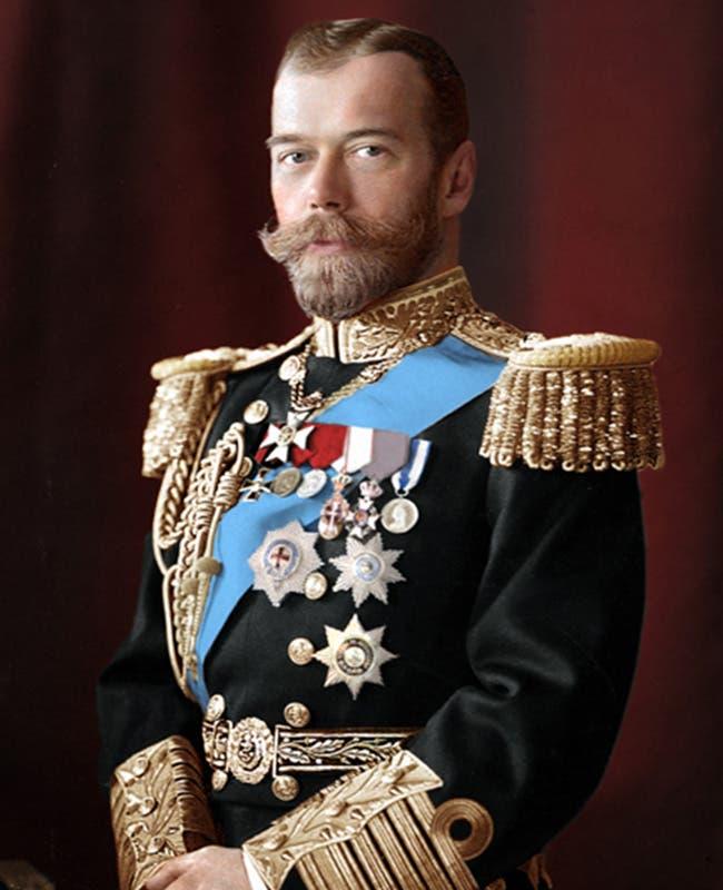 القيصر الروسي نيقولا الثاني