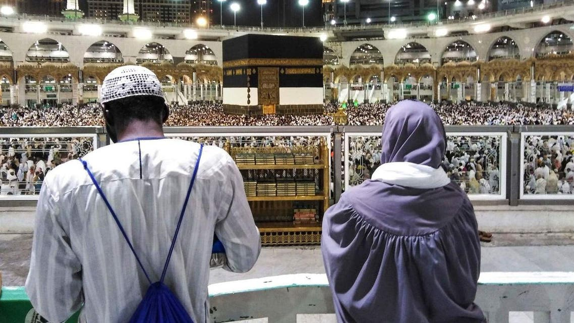 As hundreds and thousands of Hajj pilgrims start their journey back home, they are leaving behind a trail of such relationships they formed with the holy place. (AFP)