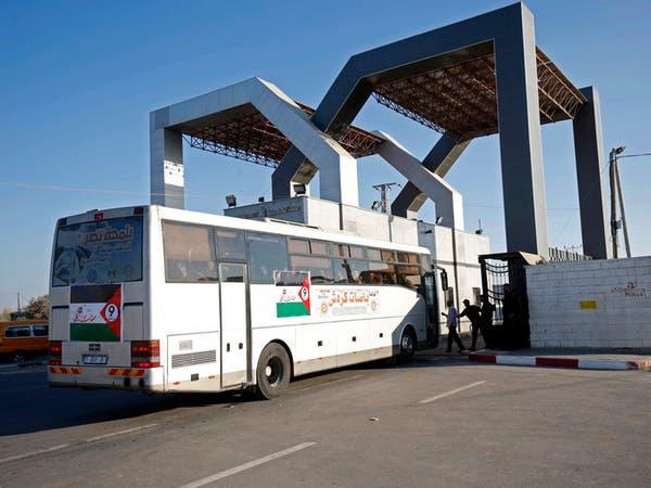 """لأول مرة منذ 5 سنوات.. معتمرو غزة يعبرون """"رفح"""""""