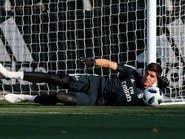 كورتوا ينضم إلى قائمة المصابين في ريال مدريد