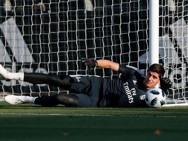 ريال مدريد يفقد حارسه البلجيكي كورتوا بسبب الإصابة