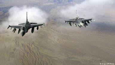 حملات هوایی نیروهای آمریکایی بر مواضع طالبان در هلمند افغانستان