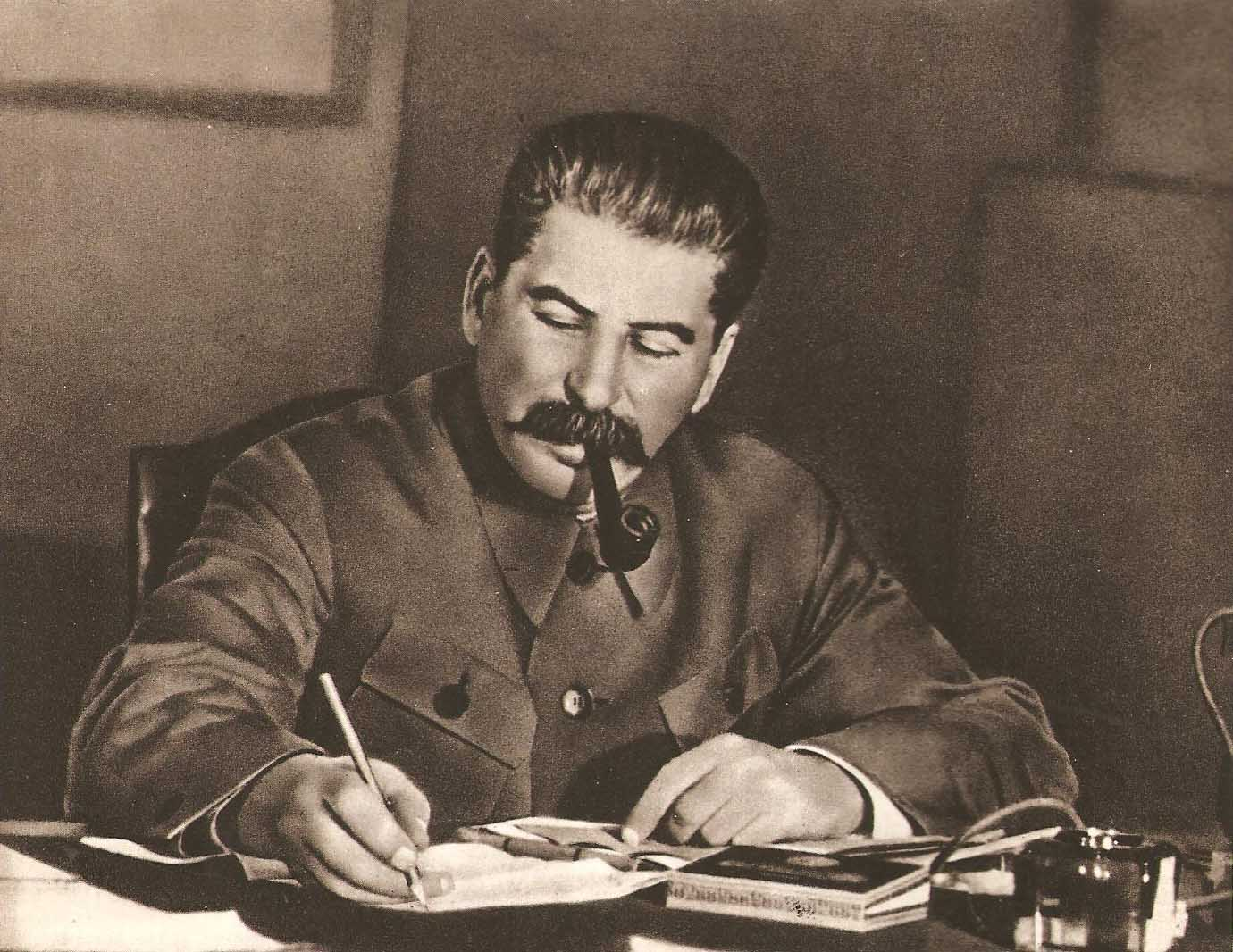 صورة للدكتاتور السوفيتي جوزيف ستالين