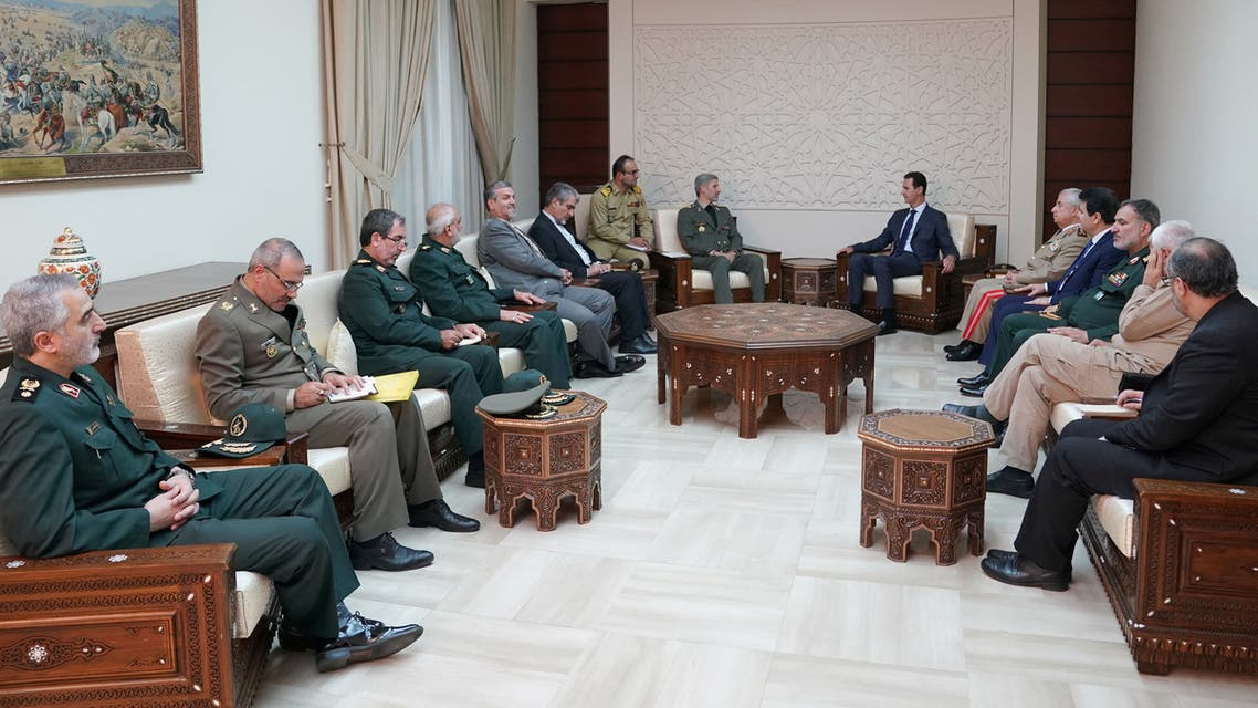 وزير الدفاع الإيراني في دمشق