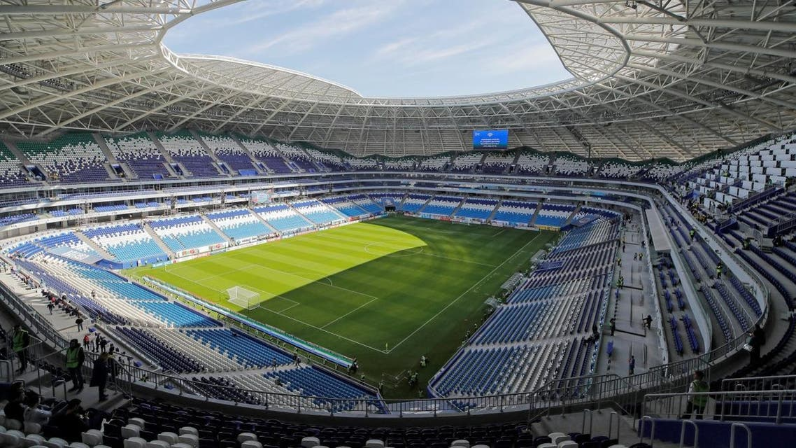 A general view shows the Samara Arena. (Reuters)
