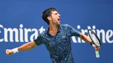 Djokovic battles through brutal heat to topple Fucsovics