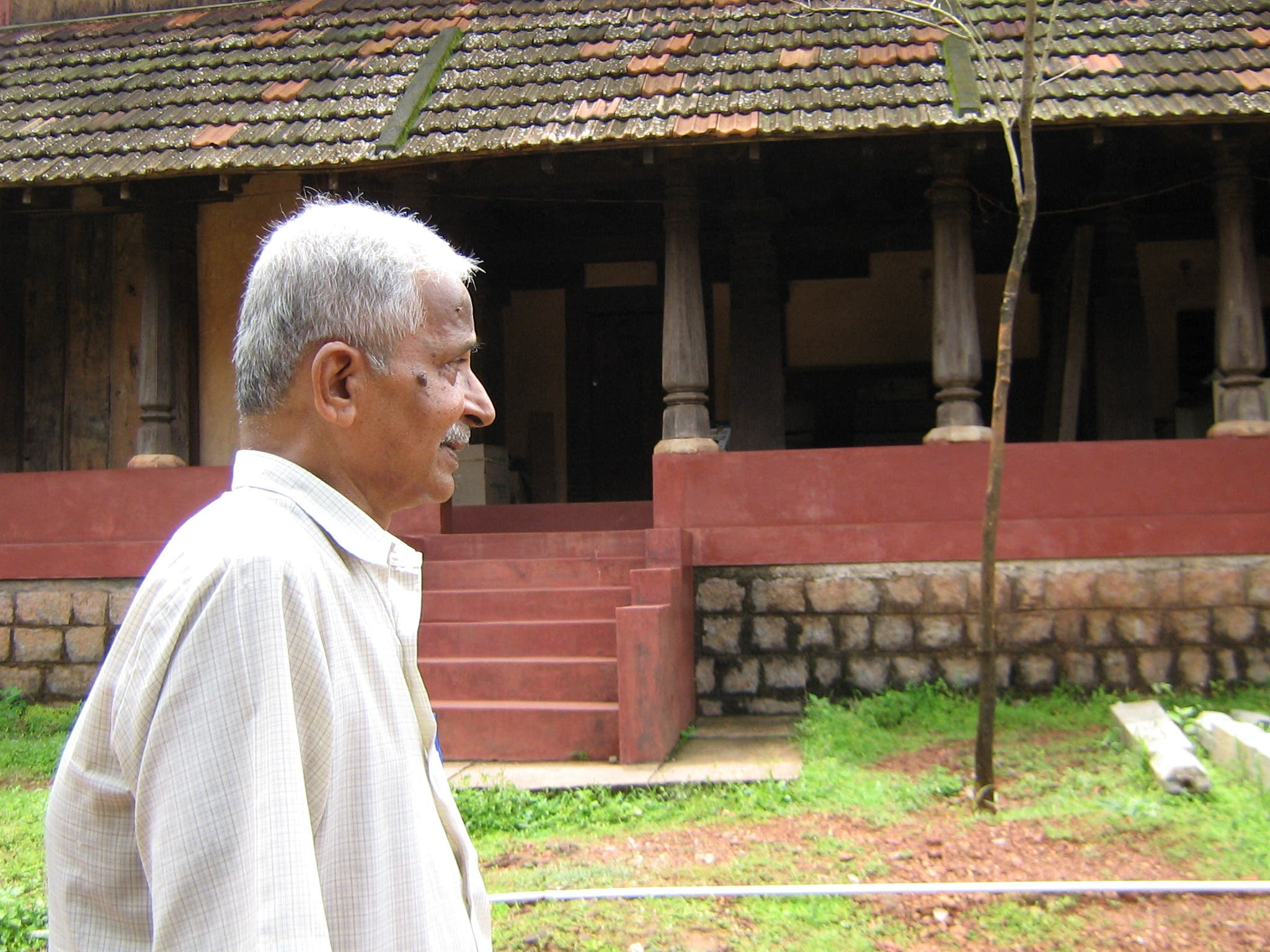 Late Vijayanath Shenoy worked day and night through the hamlets and towns of Karnataka and engaged himself in locating the heritage houses. (Supplied)