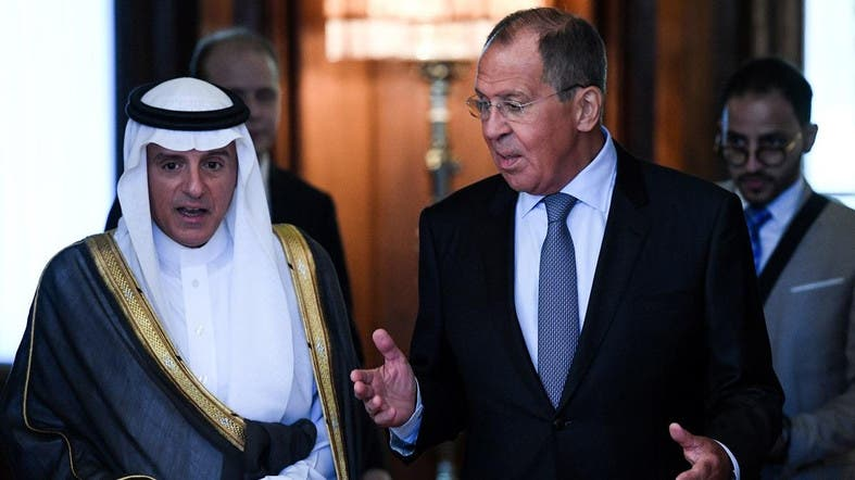 Russia's Lavrov, Saudi FM Jubeir pledge counter-terrorism efforts