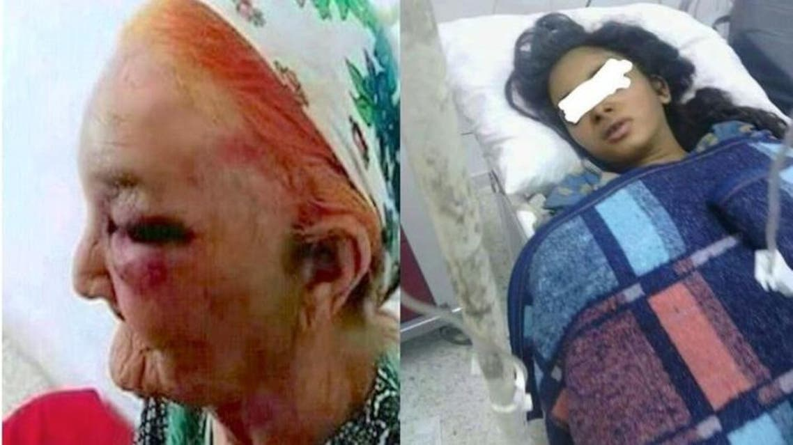 Unidentified men stormed the girls' house and attacked her grandmother, 80 years old. (Supplied)