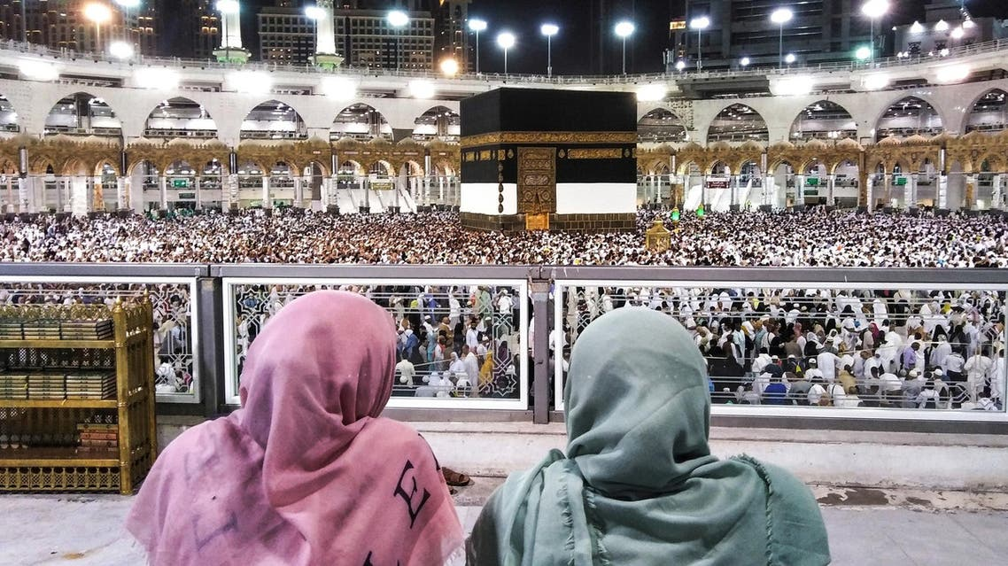 Tawaf Al-Ifada is the last formal rite of Hajj, in which pilgrims visit the holy Kaaba for the farewell circumambulation. (AFP)