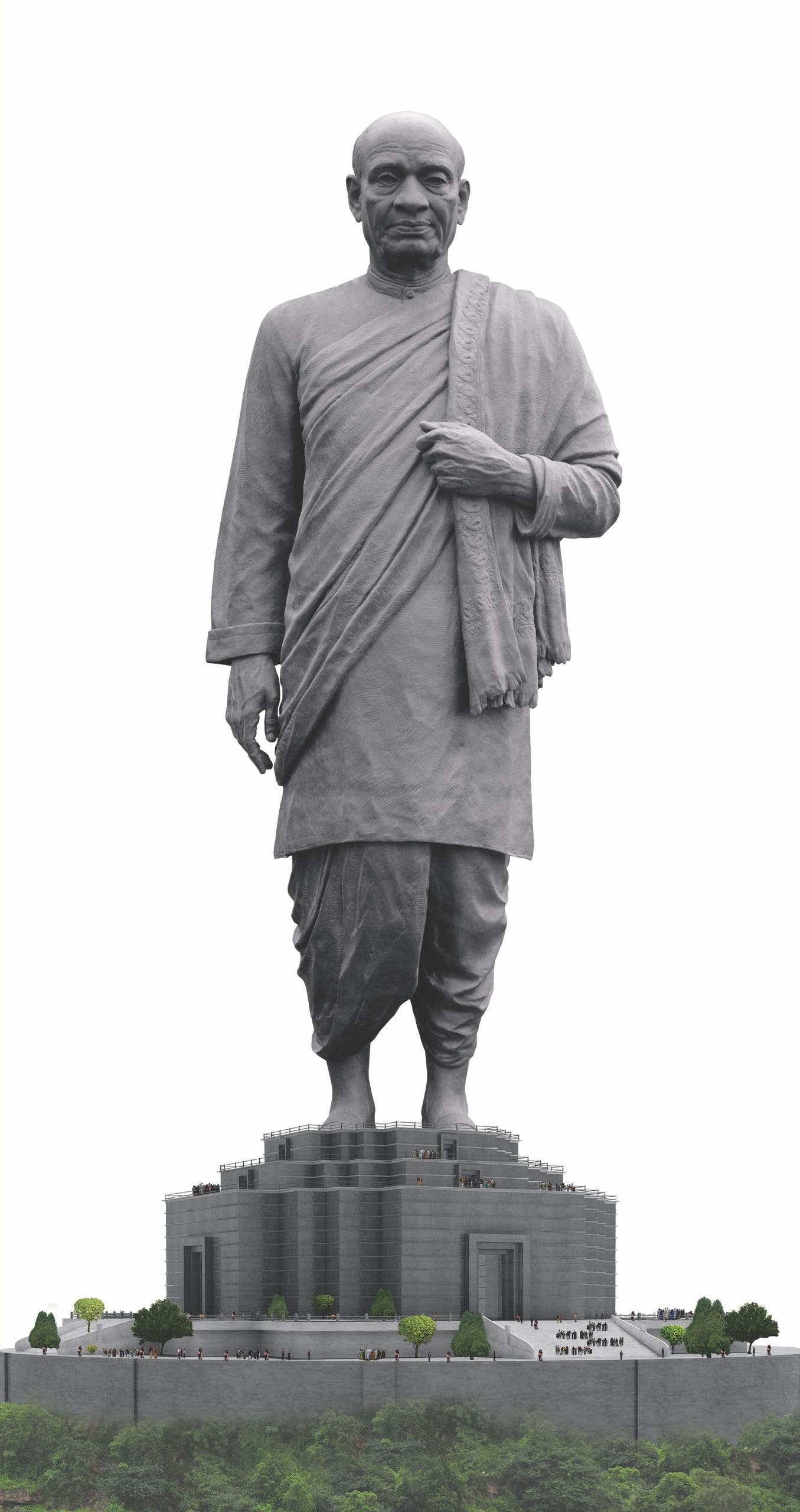 Sardar Vallabhbhai Patel was known for his iron will and indomitable courage. (Supplied)