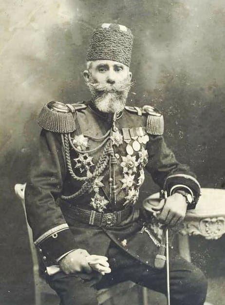 صورة للجنرال العثماني محمود شوكت باشا