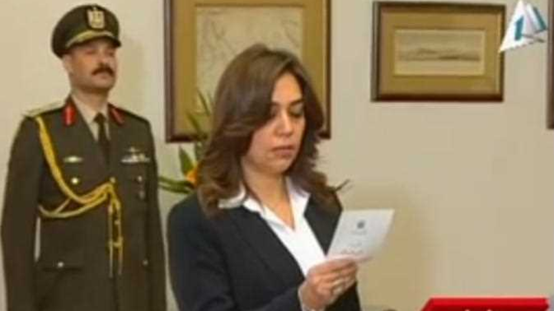 Manal Awad Mikhail was appointed governor of Damietta province Thursday. (Photo credit: Almasry Alyoum)