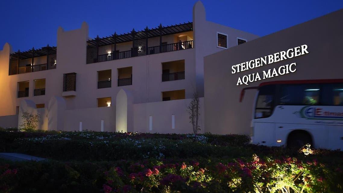 The Steigenberger Aqua Magic hotel, in Egypt's Red Sea resort of Hurghada in Egypt. (Reuters)