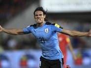 مدرب أوروغواي يستبعد كافاني من قائمة المنتخب