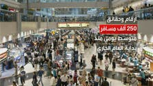 مطار دبي يسجل رقما قياسيا جديدا بعدد الركاب في شهر