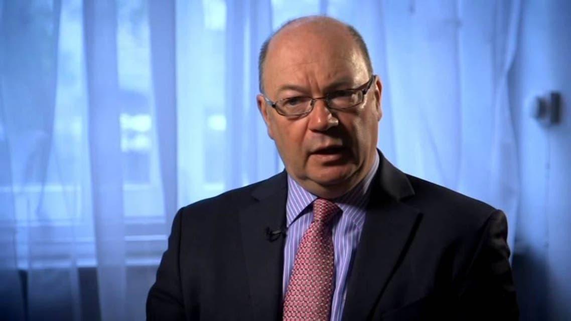 أليستر بيرت الوزير بوزارة الخارجية البريطانية