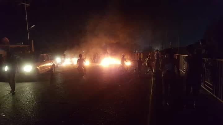 Basra Iraq protest. (Supplied)