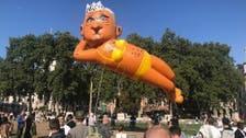 IN PICTURES: Huge bikini-clad giant balloon of London mayor flies above city