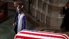 Bush, Obama say John McCain made them 'better' presidents