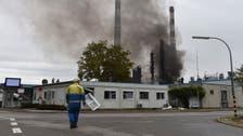 حريق في مصفاة نفط بألمانيا.. إصابة 8 وإجلاء نحو 2000
