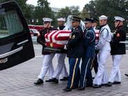 بدء مراسم وداع ماكين.. أوباما وبوش يتصدران المشيعين