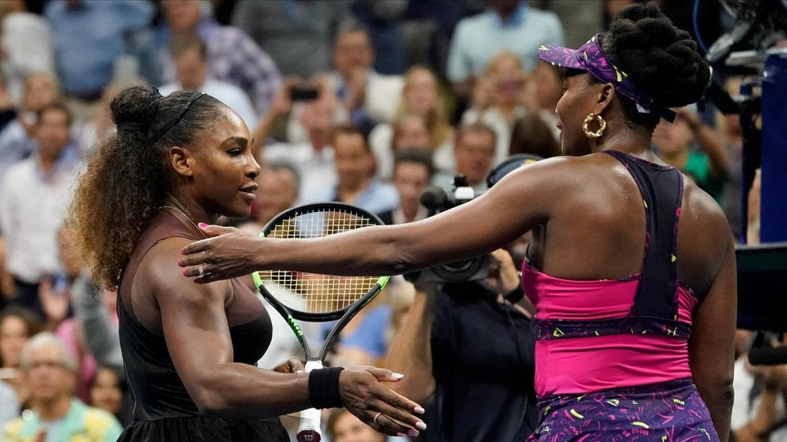 Serena Williams defeats sister Venus in a third round match on day five of the 2018 US Open. (Reuters)