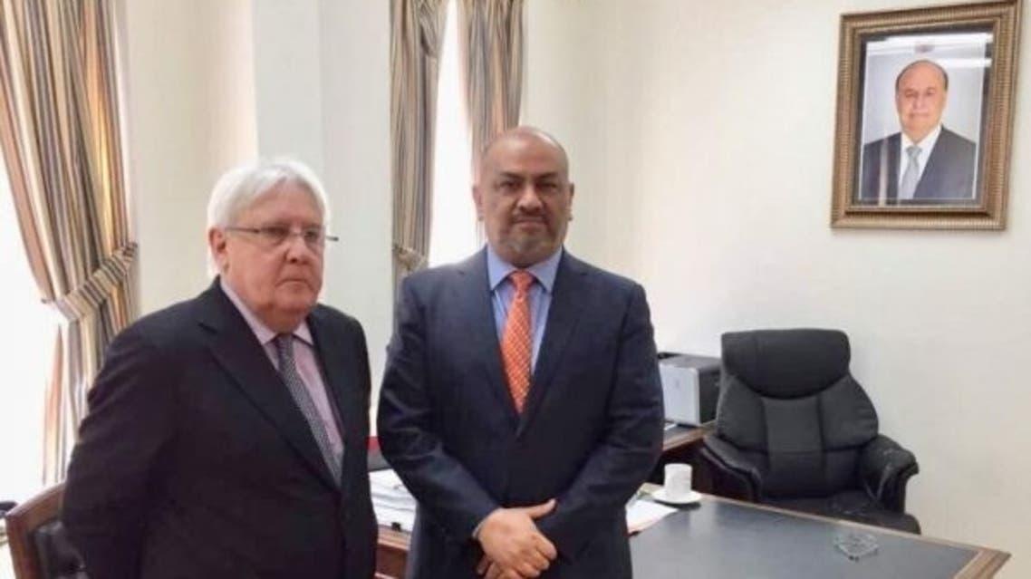 خالد اليماني و مارتن غريفيث