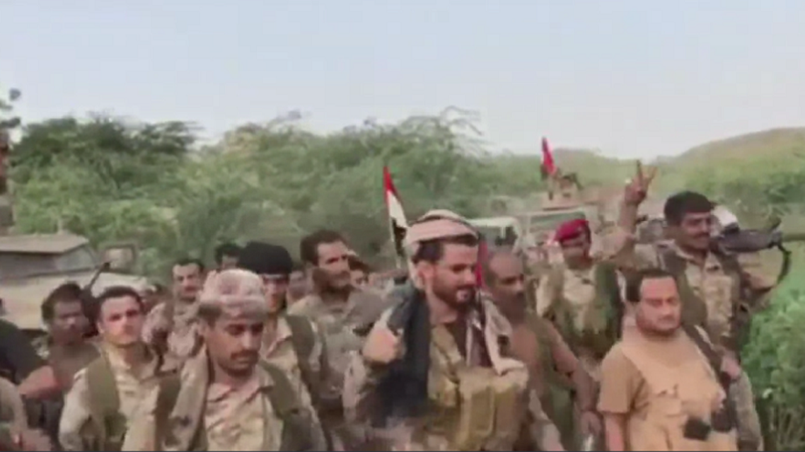 Yemeni national army (Supplied)