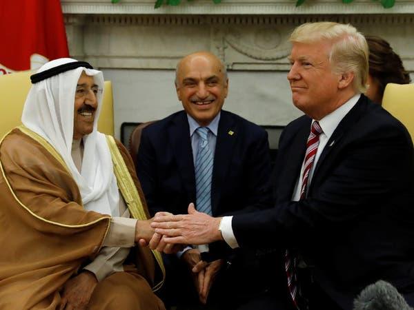 أمير الكويت إلى واشنطن الاثنين للقاء الرئيس الأميركي