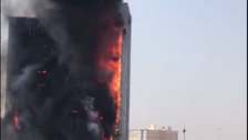 WATCH: Fire doused at Saudi public prosecution building, no casualties reported