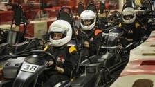 IN PICTURES: First women's go-karting race held in Saudi Arabia