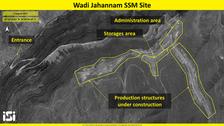شام کی وادیِ جہنم میں ایران کا میزائل اڈا : سیٹلائٹ تصاویر