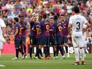 برشلونة يعاقب هويسكا ويرد على تقدمه بثمانية أهداف
