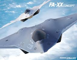 نموذج مبدئي لمقاتلات مستقبلية من الجيل السادسفي أطار برنامج FA-XX  لصالح البحرية الأميركية