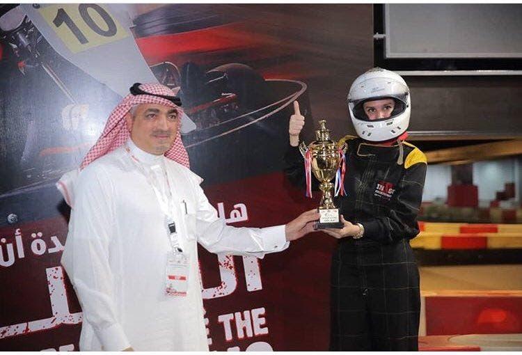 Saudi women go karting. (Supplied)