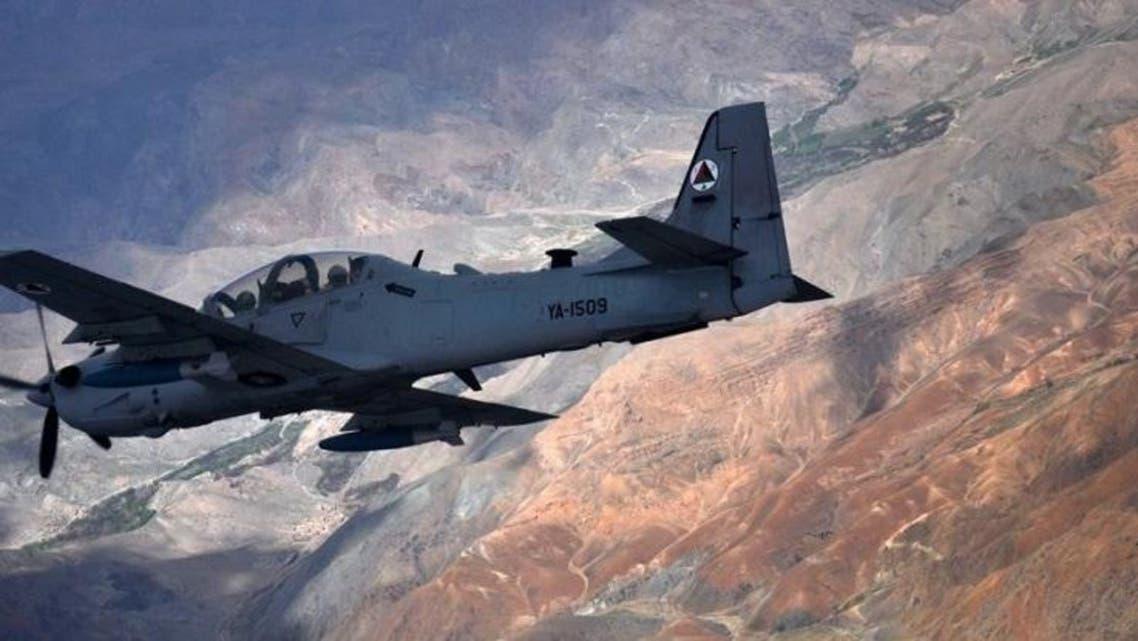 حملات هوایی ارتش افغان بالای کاروان طالبان در ولایت فاریاب