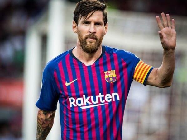 كيف علق برشلونة على استبعاد ميسي من جائزة أفضل لاعب؟