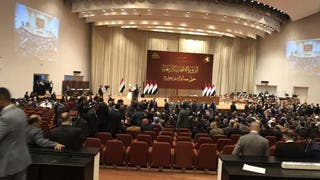 العراق.. جلسة البرلمان تخلو من التصويت على الكابينة الوزارية