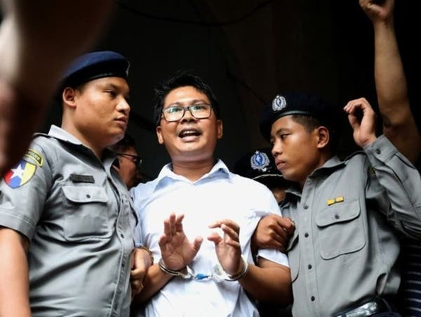 ميانمار: 7 سنوات سجن لصحافيين أجريا تحقيقا عن الروهينغا