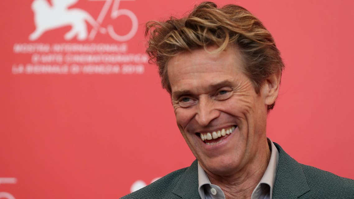 "Willem Dafoe at the 75th Venice International Film Festival photo call for the film ""At Eternity's Gate"" in Venice on September 3, 2018. (Reuters)"