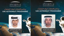 UAE names its first two astronauts to be sent to International Space Station