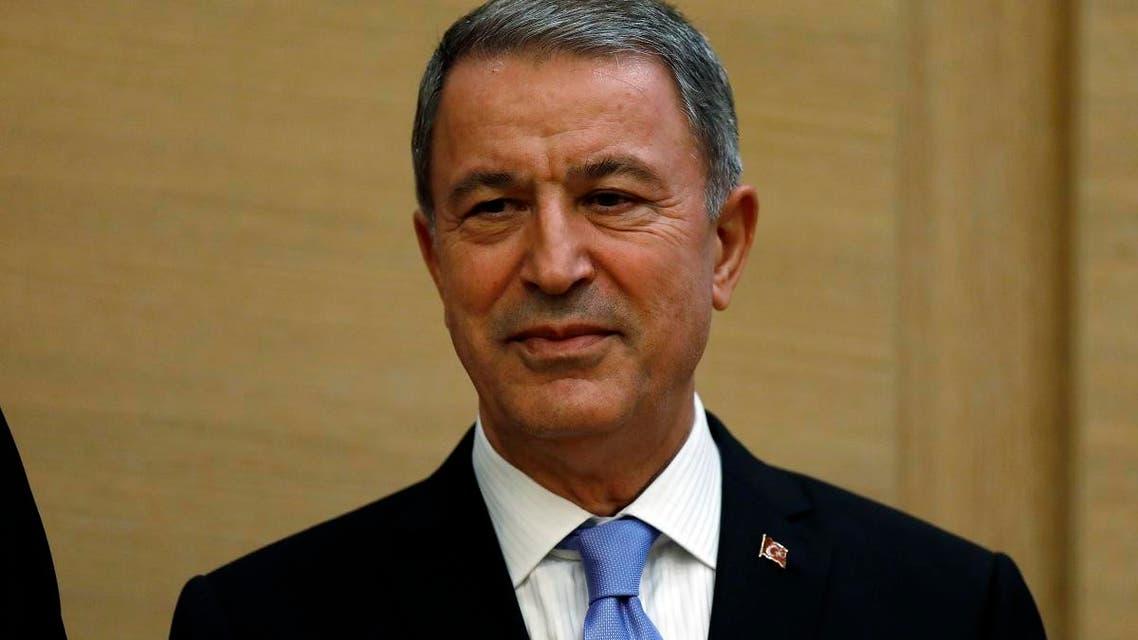 Turkish defense minister Hulusi Akar. (AP)