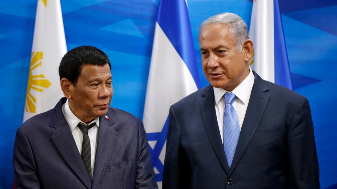 Israeli Prime Minister Benjamin Netanyahu remarked Monday on the countries' long friendship. (AFP)