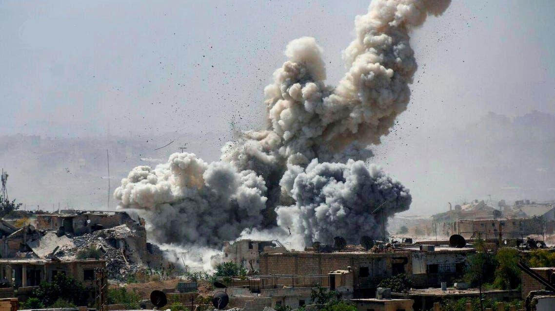 Syria Damascus strike. (FIle photo: AP)
