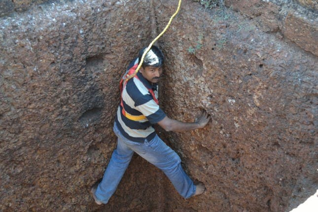 V. Govindankutty has spent nearly two years mapping every detail including condition assessment. (Supplied)