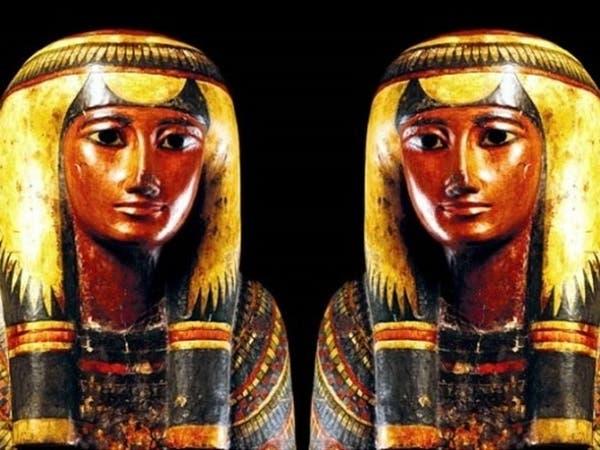 مومياء مغنية شهيرة لإله مصر الفرعونية احترقت بنار عظيمة