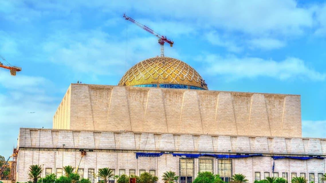 Jemma Al Djazair, the Grand Mosque of Algiers under construction. (Shutterstock)